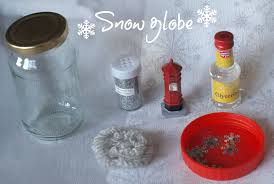 snow globe decorations here come the