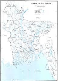 Map Of Bangladesh Rivers Of Bangladesh Bangladesh Reliefweb
