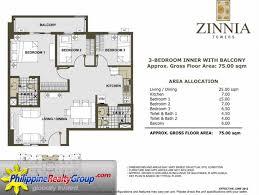 sqm to sqft zinnia towers quezon city metro manila philippine realty group