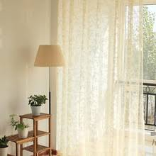 buy yellow sheer curtains and get free shipping on aliexpress com