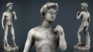 david statue by michelangelo 3d model in sculpture3dexport