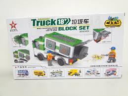 millennium star diamond star diamond building toys block set city garbage bus 82107 243pcs