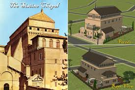 Sistine Chapel Floor Plan Mod The Sims The Ucs Part 7 The Sistine Chapel Community Lot