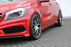 lowered mercedes mercedes benz a class hatchback gets tuned by vath autotribute