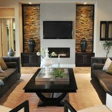 Faux Stone Sheets Any Wall Updated Quickly Living Room Focal - Rock wall design