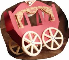 Princess Carriage Centerpiece Princess Carriage Shaped Box Template Is It For Parties Is It