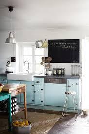 les cuisines se mettent au bleu visitedeco