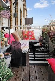 Small Balcony Decorating Ideas On by Patio Furniture For Apartment Balcony Small Decor Best Balconies