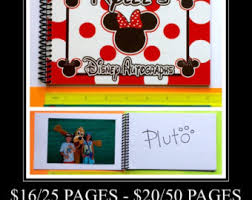 personalized autograph books disney autograph books luggage tags personalized by howddode