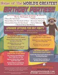 mountasia family fun center birthdays