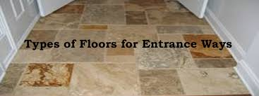 type of floors for entrance ways entryway design options