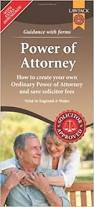 power of attorney form pack amazon co uk richard dew
