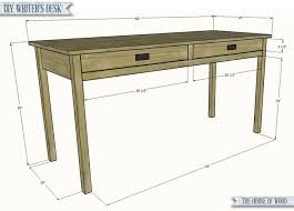 Building A Wooden Desk by Best 25 Writing Desk Ideas On Pinterest Home Office Desks