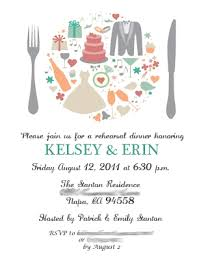 bridal dinner invitations when to send rehearsal dinner invites weddingbee