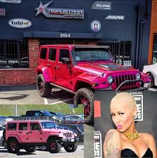 blac chyna jeep what cars do these 15 celebrities drive