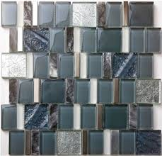 wall tiles kitchen backsplash glass mosaic wall tile kitchen backsplash sgmt163 grey