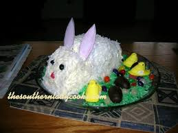 Decorate Easter Bunny Cake by Easy Easter Bunny Cake The Southern Lady Cooks