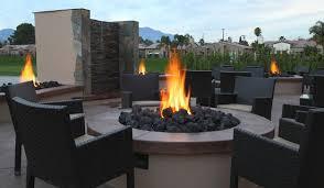 Desert Patio Cactus Club Restaurant Palm Desert Patio With Fireplaces Picture