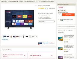 best black friday deals on smart tv stick black friday tesco preview deal instore and online from friday