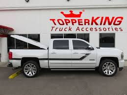 Chevy Silverado Truck Accessories - stunning silverado style graphics and tonneau topperking
