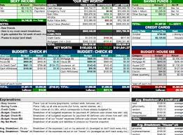 Financial Spreadsheet 10 Free Household Budget Spreadsheets For 2017