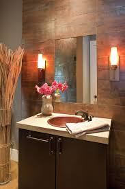 powder room tile wall powder room contemporary with neutral colors