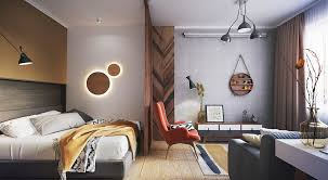 creative design for minimalist tiny apartment decorating ideas