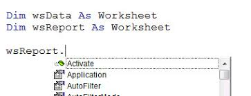 declaring variables in excel vba a4 accounting