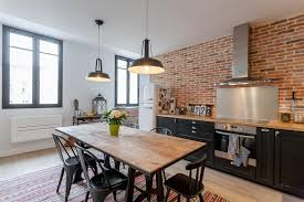 cuisine moderne dans l ancien idee deco maison stille moderne ancien idées de décoration