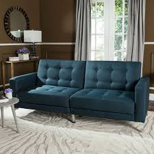navy blue sofa bed foldable loveseat safavieh com