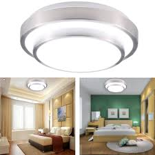 Modern Light Fixture by 1200lm 18w Led Flush Mount Ceiling Light Modern Contemporary Lamp