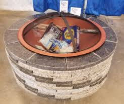 Granite Fire Pit by Summer Fire Pits Now Available In Granite Hba Of Greater