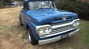 Old Ford Truck Bumpers - 1960 ford f100 pickup truck youtube