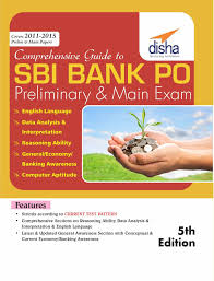 buy comprehensive guide to sbi bank po preliminary u0026 main exam