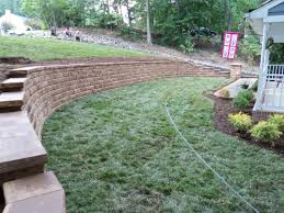 Ideas For Retaining Walls Garden by Landscape Design Retaining Wall Ideas Home Design Ideas