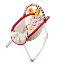 Baby Automatic Rocking Chair Bright Starts Rock U0027n Lounge Elevated Rocker Playful Pinwheels