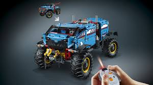 lego technic truck 42070 6x6 all terrain tow truck products lego technic lego
