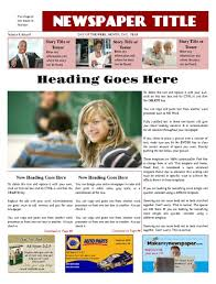 modern newspaper layout design tips