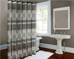 Grey Shower Curtains Fabric Modern Shower Curtains Fabric U2014 All Home Design Solutions Best
