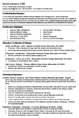 how to write an effective medical assistant resume