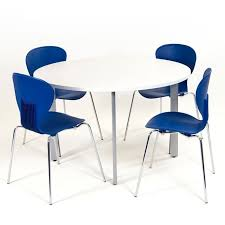 Circular Meeting Table Circular Meeting Table On Four Legs Table Small Meeting