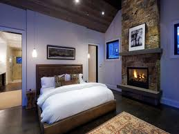 fireplace bedroom bedroom contemporary bedroom with rrectangle sstructure stone