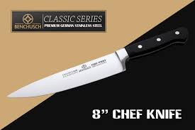 Engraved Kitchen Knives Amazon Com Benchusch Professional 8 Inch Chef Knife Classic