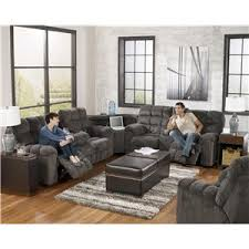 signature design by ashley addie reclining sectional with left