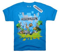 official mojang licensed minecraft short sleeve t shirt for kids