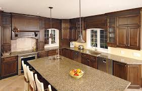 cuisine armoire brune kitchens armoires trudeau