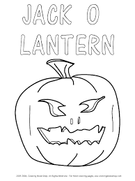 halloween printable coloring pages design your own jack o lantern