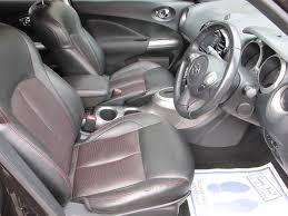 nissan juke leather seats used nissan juke hatchback 1 6 16v tekna cvt 5dr in bridgnorth