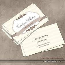 Ivory Business Cards Bakery Business Card Templates Studio