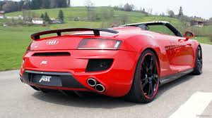 Audi R8 V12 - 2010 abt audi r8 spyder review interior and exterior youtube